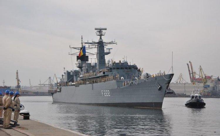 Militarii de pe fregata Regina Maria confirmaţi cu COVID-19 vor fi evaluaţi la Spitalul Militar
