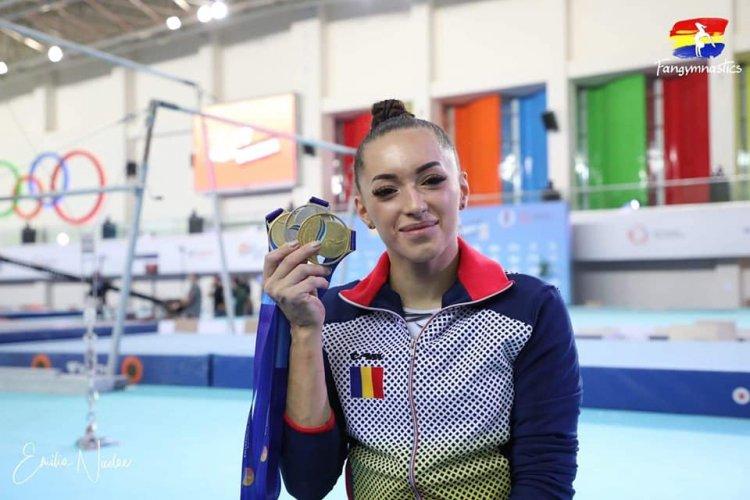 Larisa Iordache, dublă campioană europeană la Mersin în finala pe aparate