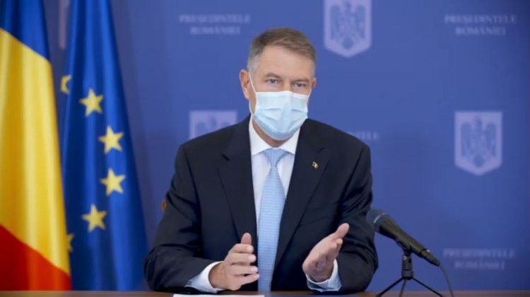 Iohannis: Mă voi vaccina public, pe data de 15 ianuarie