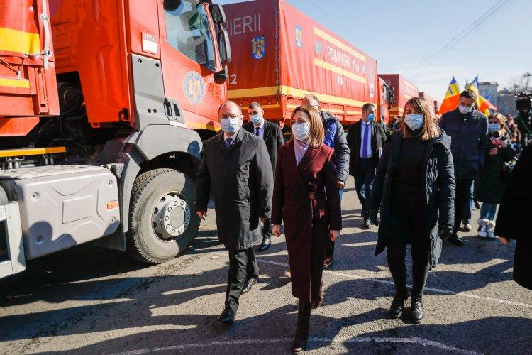 Maia Sandu: Îi mulțumesc României pentru sprijinul constant
