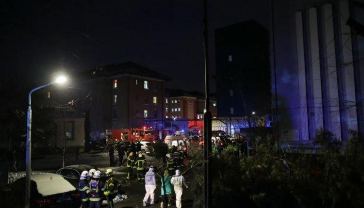 Incendiu la spitalul Marius Nasta din Capitală. Ministerul Sănătății: Nu sunt victime