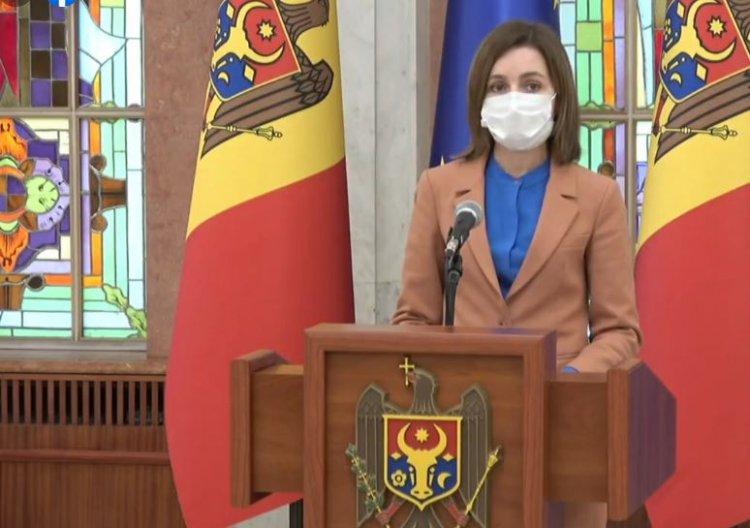 Maia Sandu a dizolvat Parlamentul şi a convocat alegeri anticipate pe 11 iulie