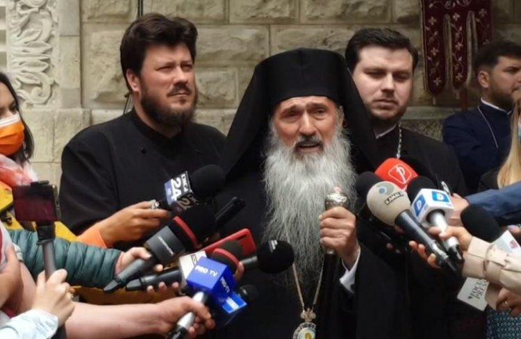 ÎPS Teodosie: Doar Dumnezeu poate să îmi dea sancţiuni. Nu îmi doresc să fiu patriarh.