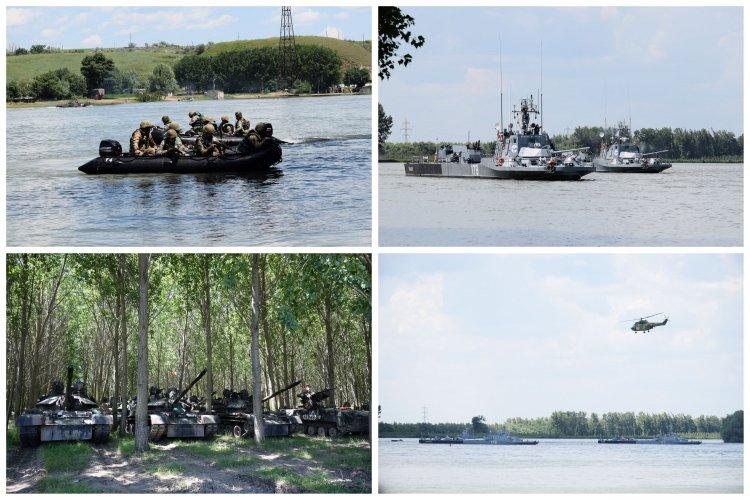FOTO Peste 650 de marinari militari participă la Exercițiul DACIA 21 LIVEX