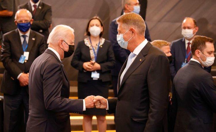 Iohannis: L-am invitat pe preşedintele Biden în România. A fost perfect de acord să încercăm să organizăm o astfel de întâlnire