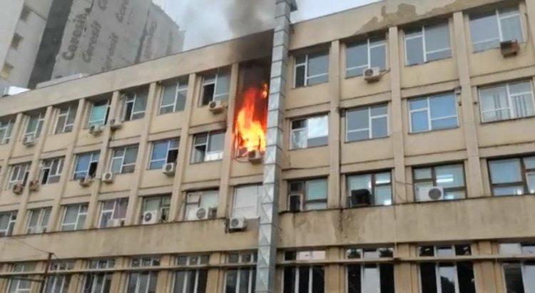Incendiu la Spitalul Clinic de Urgență pentru Copii Sfânta Maria din Iași
