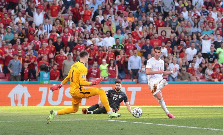 Spania, în sferturile Euro-2020, după un meci spectaculos cu Croaţia, scor 5-3, după prelungiri