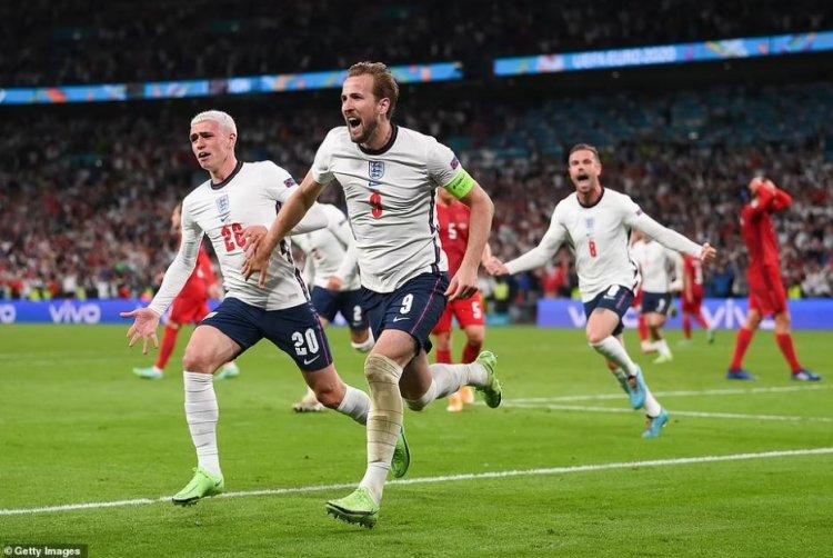 Anglia se califică în prima finală de Euro din istorie