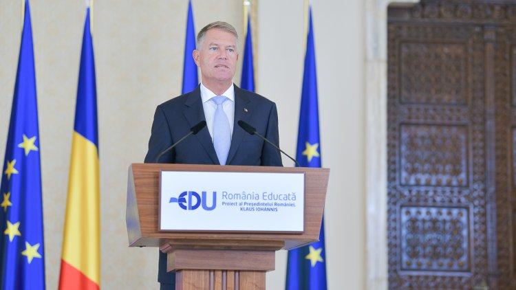 Iohannis: Reforma în Educație e vitală pentru viitorul României