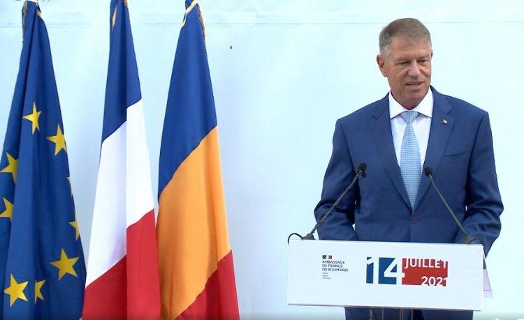 Iohannis: Prietenia româno-franceză este puternică, iar parteneriatul nostru strategic este solid