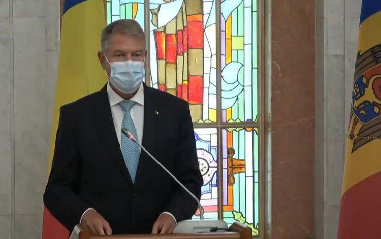 Iohannis: Societatea din Republica Moldova oferă un exemplu demn de urmat întregii regiuni