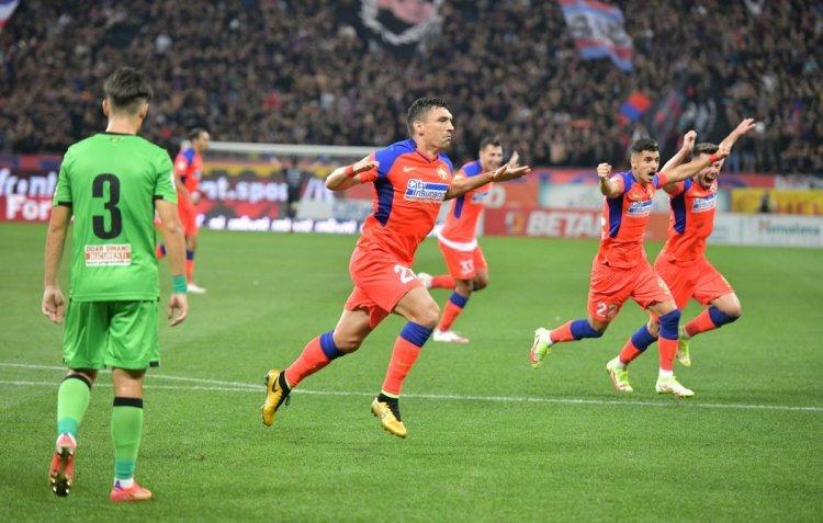 FCSB a surclasat-o pe Dinamo cu scorul de 6-0
