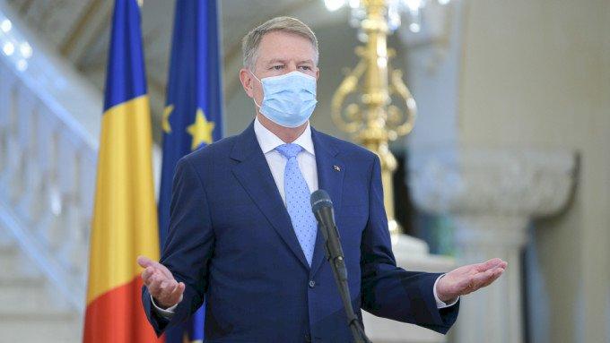 Iohannis: Suntem încă pe un trend ascendent al epidemiei