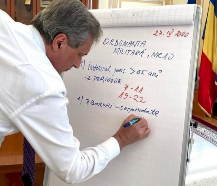 Marcel Vela a anunţat între ce ore pot circula în afara locuinţei persoanele cu vârsta peste 65 de ani