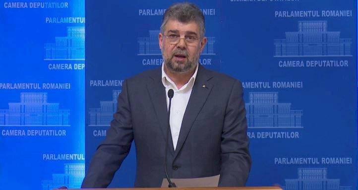Ciolacu: Azi am avut senzaţia că Vadim Tudor trăieşte şi este preşedintele României