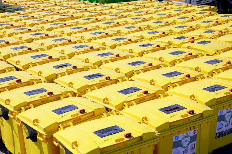 400 de containere destinate deşeurilor vor fi montate la platformele din Constanţa