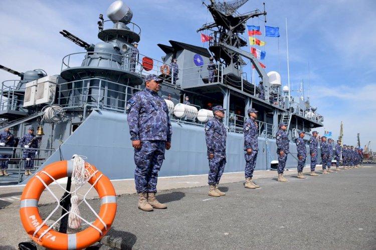 Nava militară Viceamiral Constantin Bălescu a raportat MISIUNE ÎNDEPLINITĂ