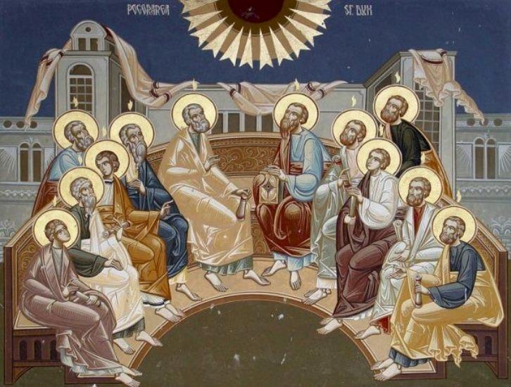 Creștinii sărbătoresc Rusaliile sau Pogorârea Duhului Sfânt, întemeierea Bisericii Creștine!