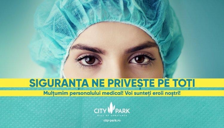 City Park dăruiește medicilor și asistenților din prima linie vouchere de cumpărături