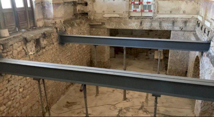 Grinzile de la Cazinou, vechi de 113 ani, arată ca noi și vor putea fi admirate de vizitatori
