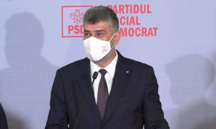 Marcel Ciolacu este noul preşedinte al Partidului Social Democrat